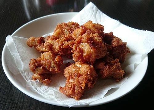 マテ茶鶏の唐揚げ