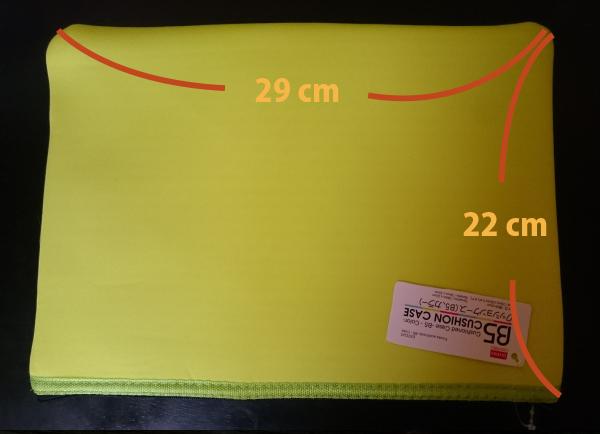 MacBook12インチを入れるクッションケースのサイズ